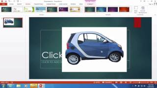 Remove Background from Imąges in PowerPoint tutorial