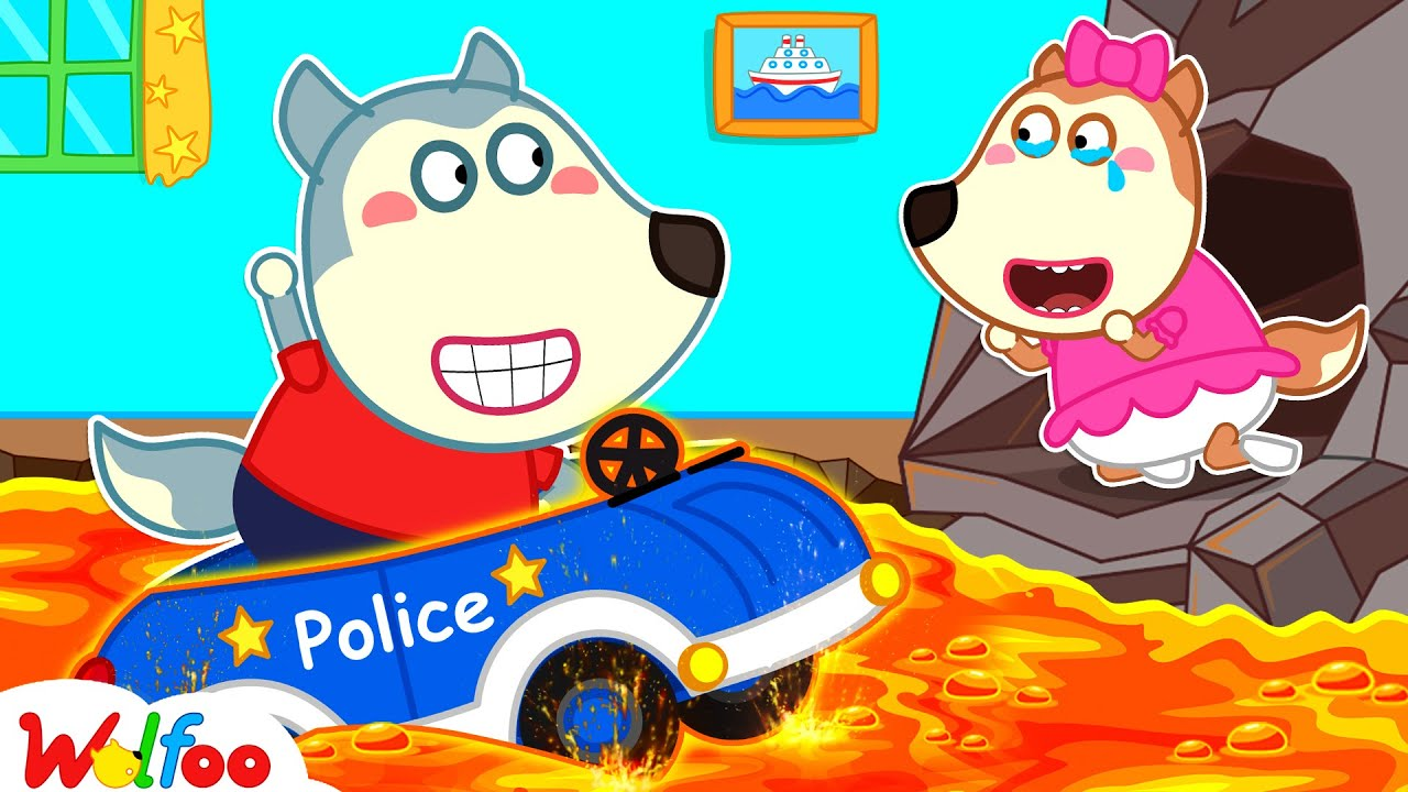 Wolfoo Pretend the Floor Is Lava and Has Fun Playtime with Lucy - Kids Pretend Play | Wolfoo Channel