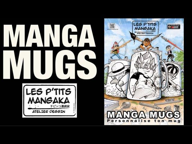 L' atelier des p'tits Mangaka de Chouchena / Manga mugs