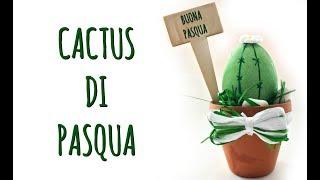 CACTUS di PASQUA :il segnaposto che di mangia! Feat 2C+K (Creatività/Pasqua)Arte per Te