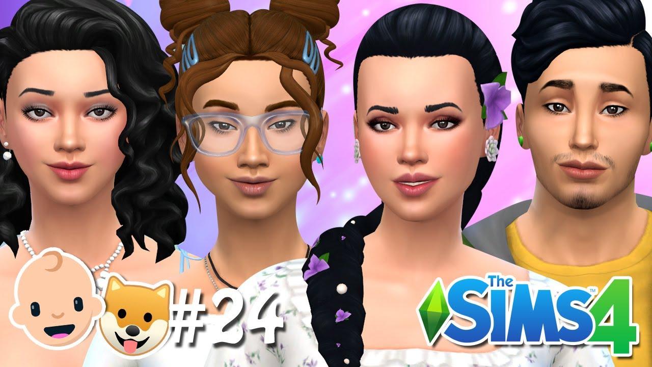 MEUS IRMÃOZINHOS CRESCERAM #24 - Pai Adolescente - The Sims 4