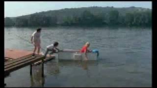 """Film """"Les Sous-doués en vacances"""" (scène de jalousie avec D.Auteuil, Marilyn et Gunter le mari)"""