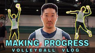 MAKING PROGRESS | Volleyball Vlog (2/6/20)