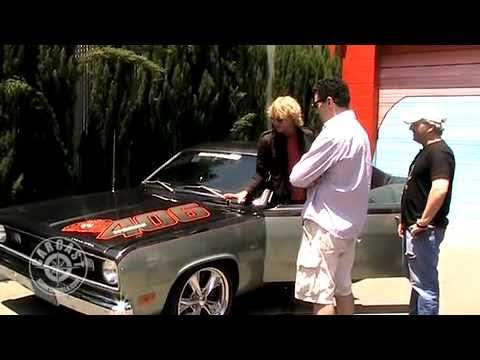 Kenny Wayne Shepherd with Adam Carolla and Sandy Ganz on CarCast
