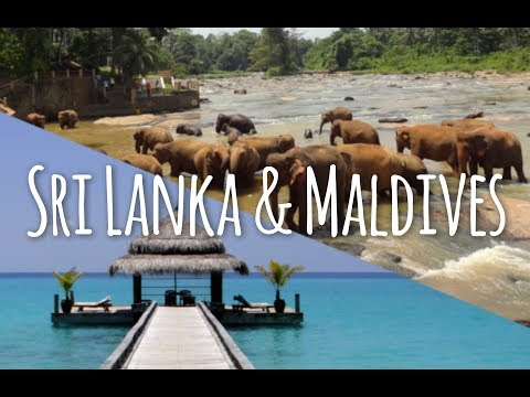 Sri Lanka and Maldives Honeymoon Destination Travel Video