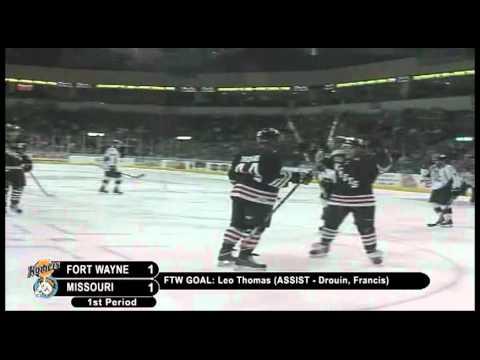 12/11/10 - Missouri Mavericks vs. Fort Wayne Komets