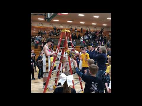 Evansville Day School 2019 Sectional Champs - Cutting Nets