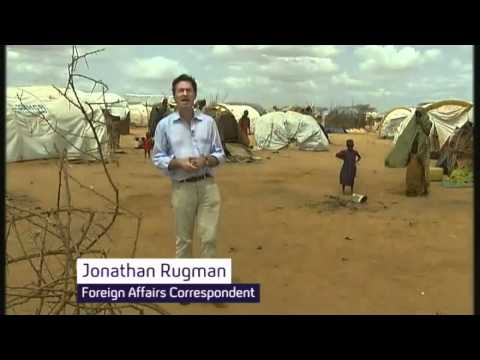 Fleeing famine in Somalia