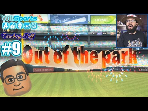 BRADLEY COOPER SMASHED THIS OUT OF THE PARK!!! | Wii Sports | Baseball #9 |