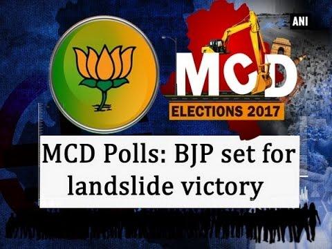 MCD Polls: BJP set for landslide victory  - New Delhi News