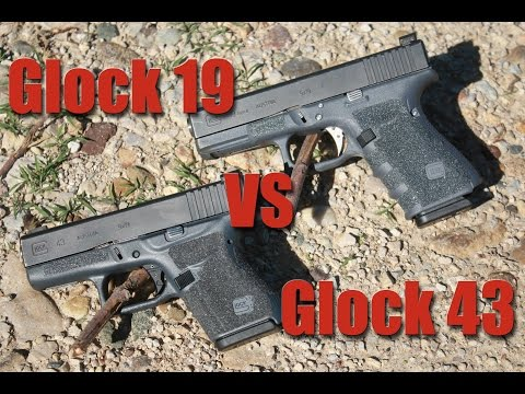 Glock 19 vs Glock 43: Large vs Small Gun for Concealed Carry
