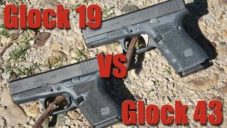 glock 19 vs glock 43 large vs small gun for concealed carry