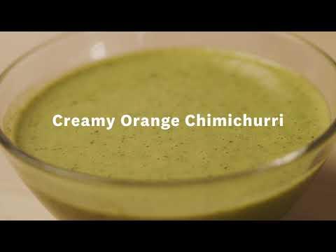 Thumbnail to launch Creamy Orange Chimichurri video