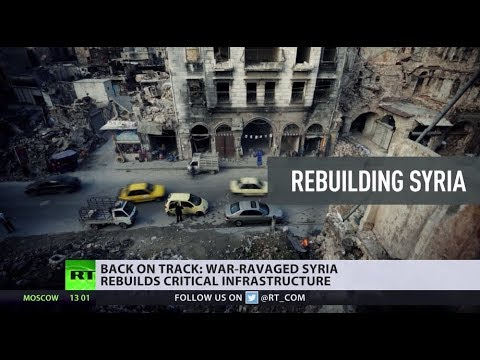 Aleppo: Still in ruins, but slowly getting back on track as Syria rebuilds cities