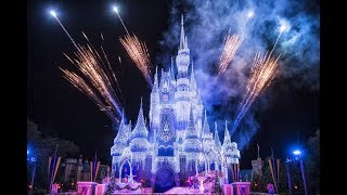 Cinderella Castle Frozen 'Let It Go' Celebration of Magic - Magic Kingdom Disney World