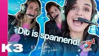 Met de helikopter naar een optreden - K3 vlog #10