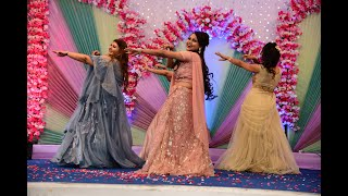 A beautiful performance by Bride and her cousins | DILBARO | PROPER PATOLA