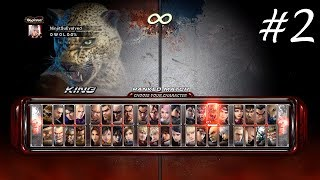 Tekken 6 (Xbox 360/Xbox One) - Online Fight Compilation #2 (King)