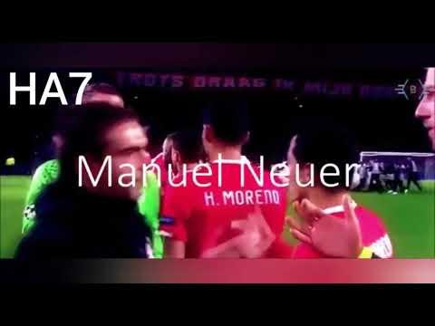 Manuel neuer ya lili 2018
