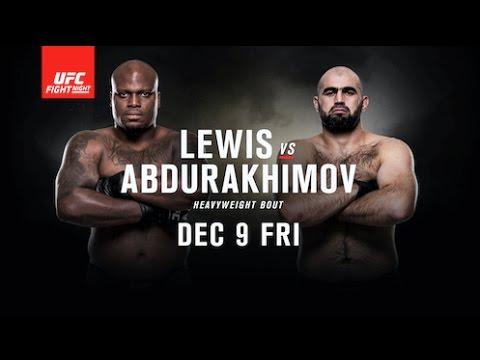 UFC Fight Night: Lewis vs Abdu...