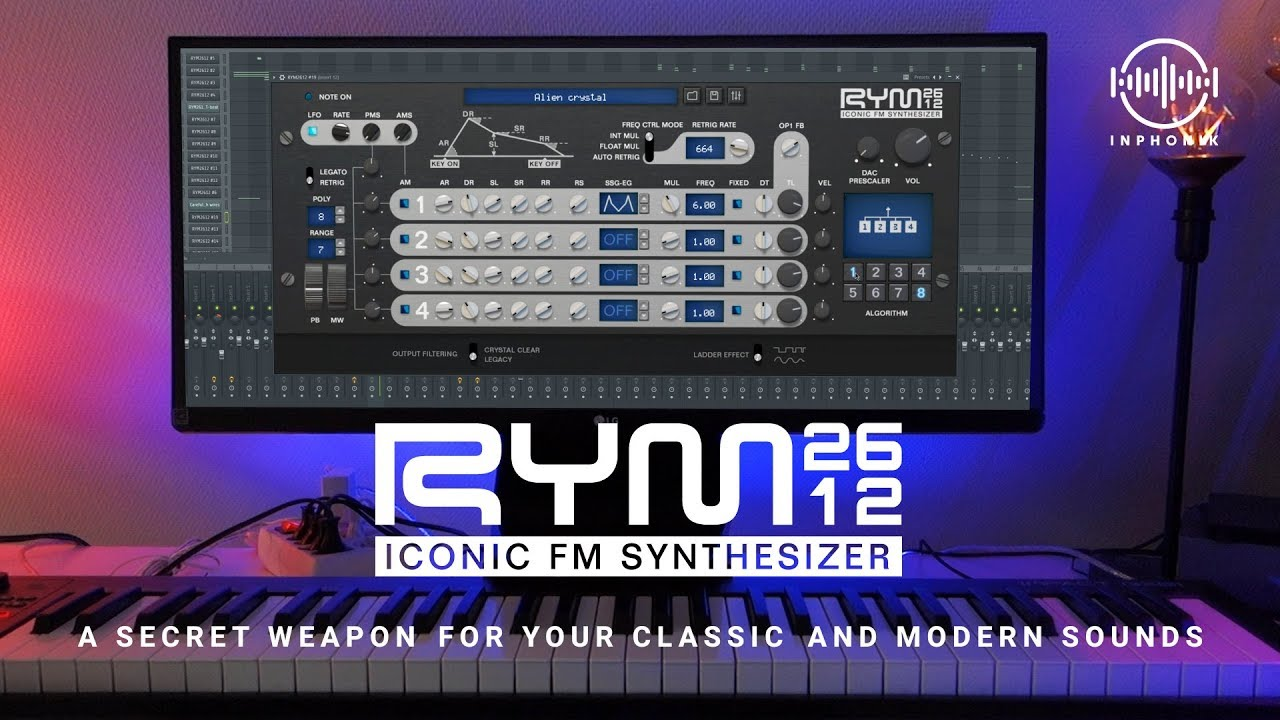 Save up to 60% on Inphonik's RYM2612 FM Synth & RX950