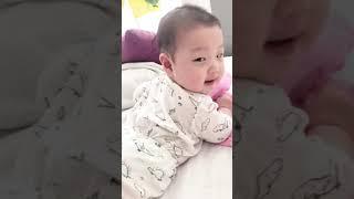 [5개월] 기어가기 연습 ? 엉덩이가 빠운쓰
