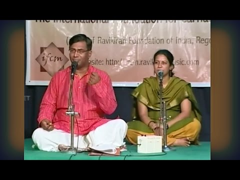 Carnatic Music Lesson: Anandabhairavi Geetham taught by Shri Chitravina N Ravikiran