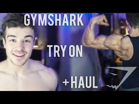 Gymshark Haul And Try On | Mens Sizing | + New Releases