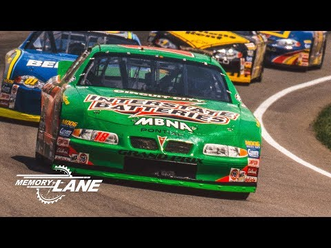 Bobby Labonte Passes Rusty Wallace To Win The 2000 Brickyard 400
