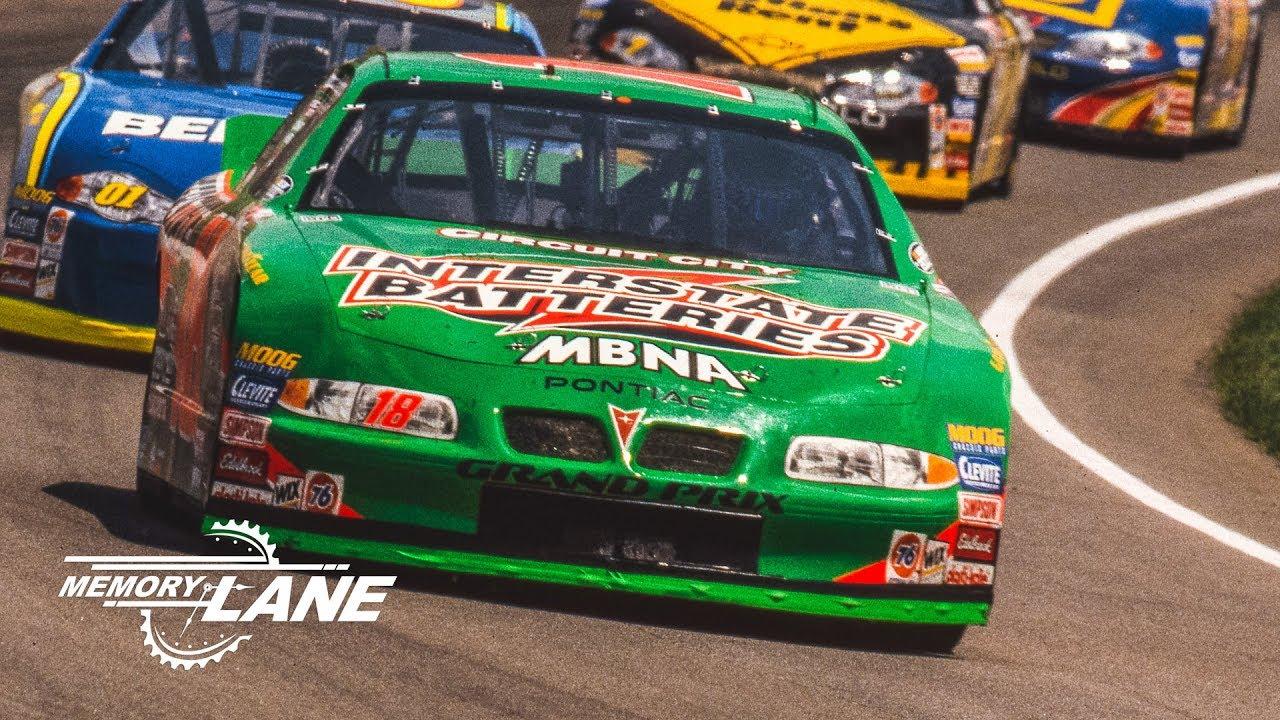Bobby Labonte Passes Rusty Wallace To Win The 2000 Brickyard 400