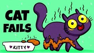 Komik Kedi Başarısız Çok Gülecek! | KARİKATÜR
