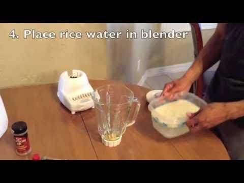 How to make horchata fast