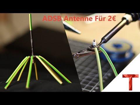 [EN subs] ADSB Antenne für 2€ - DIY