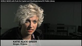 WORLD NEWS with Punk the Capital and Washingtoniana / DC Public Library Punk Archive