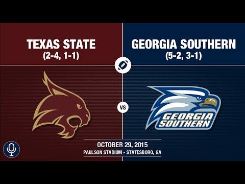 2015 Week 9 - Texas State at Georgia Southern (GS Radio)