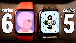 Apple Watch Series 6 vs Series 5 - Everything Compared!