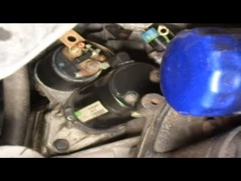 2001 Saturn Sl2 Starter Location - How To Replace The Starter In A Saturn S Series Car Auto Maintenance Repairs Wonderhowto - 2001 Saturn Sl2 Starter Location