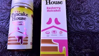 Raspberry Hotcakes by The Pancake House Ejuice///DRIP KINGZTV