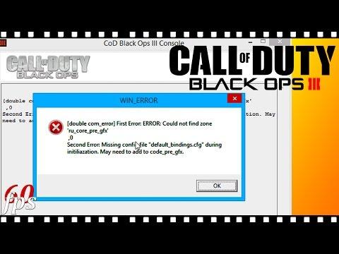 РЕШЕНО! Call Of Duty Black Ops 3 - Черный экран | Win ERROR