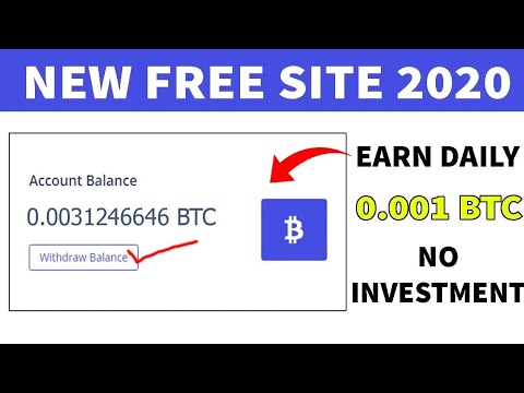 New Free Bitcoin Mining site 2020 || 2 best earning site || earn free Bitcoin 2020