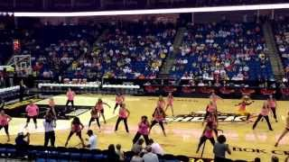 Tulsa Shock Half-Time Show 2013 led by Ashley Zumbafied!! Much love to those that participated!!!