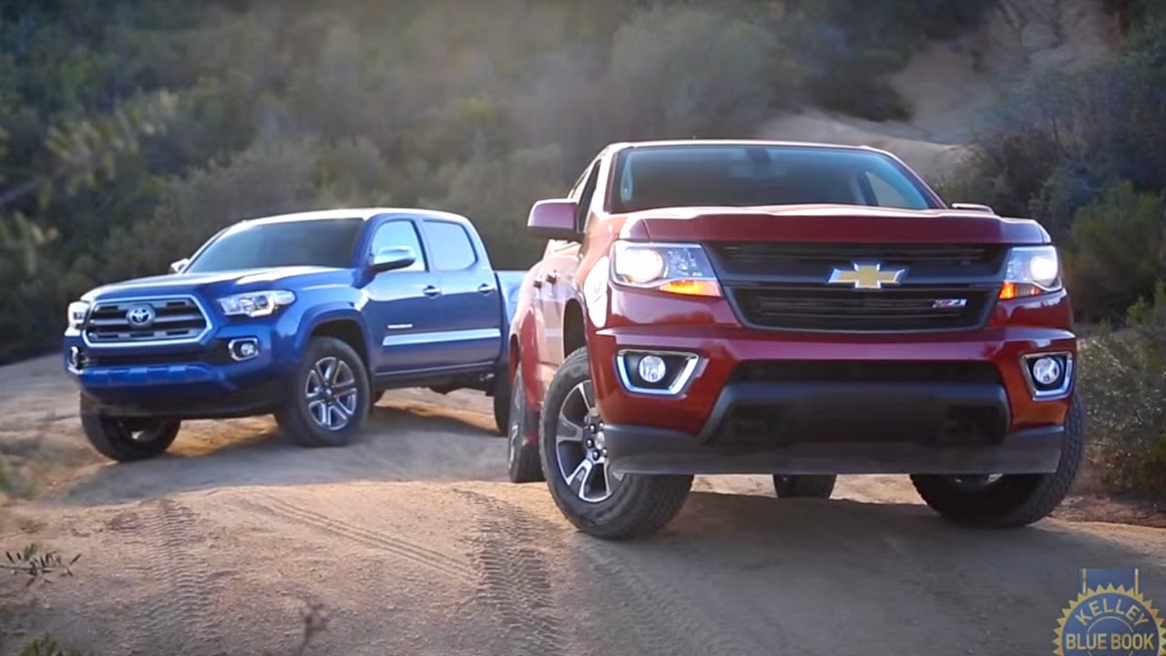 2017 Toyota Tacoma vs. 2017 Chevy Colorado - YouTube