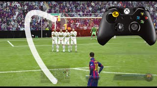 FIFA 16 /FIFA 15 CURVE FREEKICK TUTORIAL
