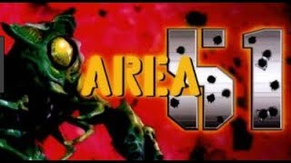 Area 51 (Arcade Game) - Full Playthrough