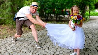 Nastya as a Princess Bride at a Dream Wedding Top Stories