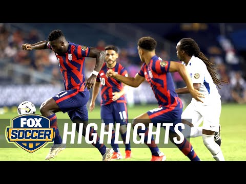 Download USMNT offensive explodes in 6-1 win over Martinique | 2021 Gold Cup