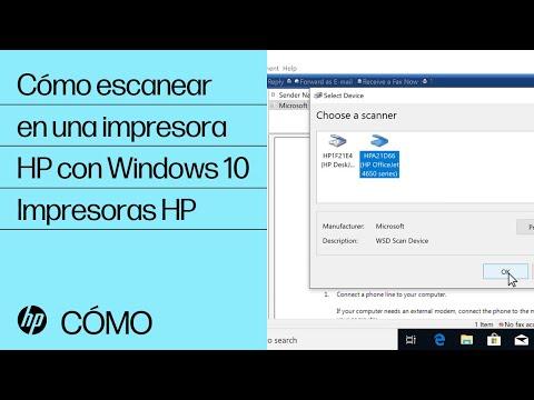 Cómo escanear en una impresora HP con Windows 10 | Impresoras HP | HP