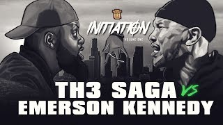 TH3 SAGA VS EMERSON KENNEDY SMACK RAP BATTLE | URLTV