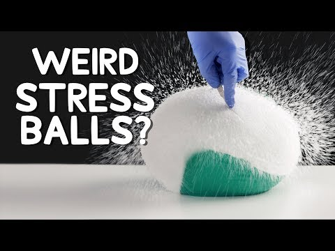 Destroying Giant Stress Balls (Satisfying)