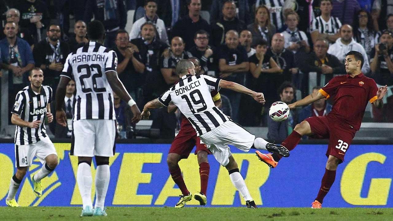 Juventus Roma 3 2 05 10 2014 Youtube